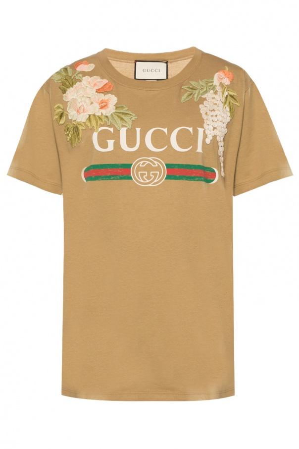 626751ccb5b Printed T-shirt Gucci - Vitkac shop online