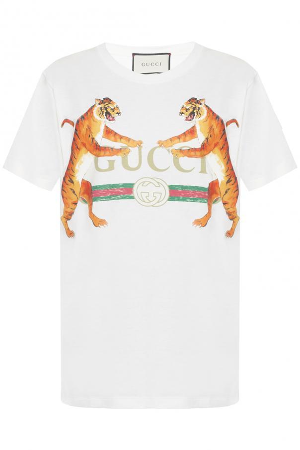 d1bd30f218a Logo T-shirt Gucci - Vitkac shop online