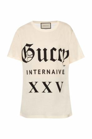 Printed t-shirt od Gucci