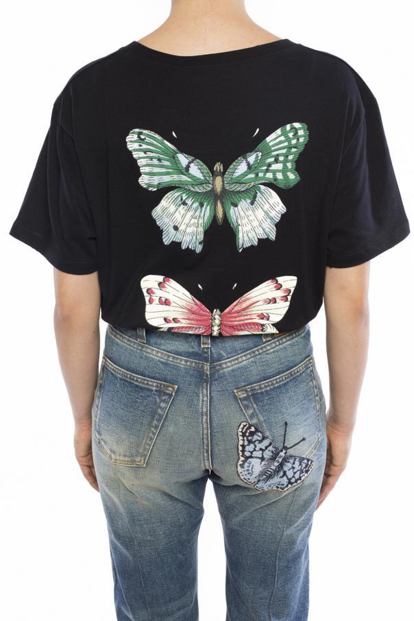 fc062816e40a Appliqued T-shirt Gucci - Vitkac shop online