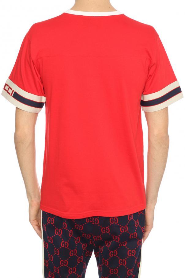 3ca1bf2fb6a Appliqued T-shirt Gucci - Vitkac shop online