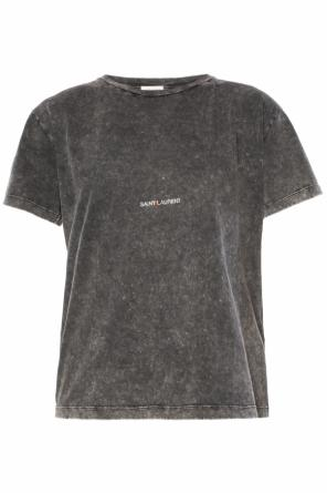 Logo-printed t-shirt od Saint Laurent
