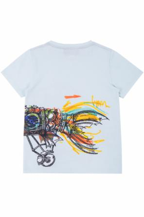 Printed t-shirt od Gucci Kids