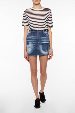 Striped t-shirt od T by Alexander Wang