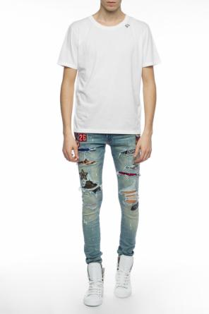Logo t-shirt od Saint Laurent