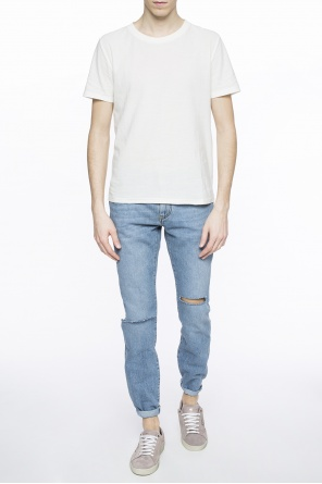 T-shirt with logo od Saint Laurent