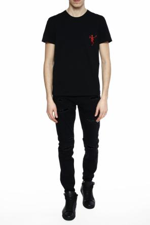 Chest pocket t-shirt od Alexander McQueen