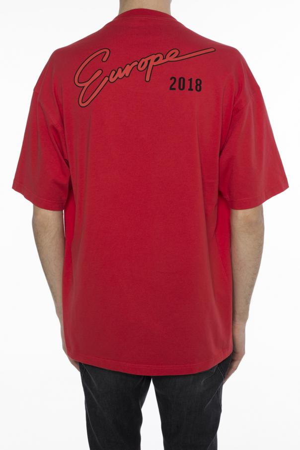 Oversize T Shirt Balenciaga Vitkac Shop Online
