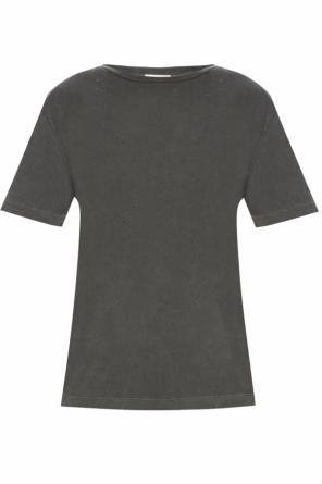 T-shirt with holes od Saint Laurent