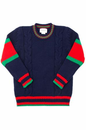 Woolen sweater od Gucci Kids