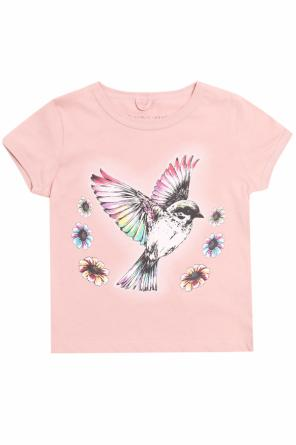 T-shirt with a colorful print od Stella McCartney Kids