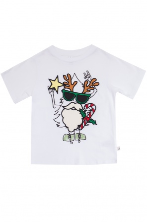 T-shirt z odpinanymi elementami od Stella McCartney Kids