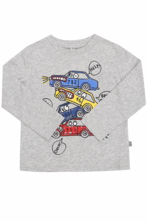 T-shirt with a car motif od Stella McCartney Kids