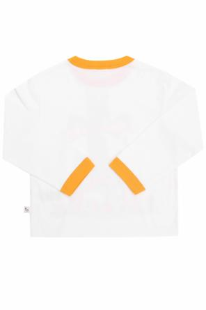 Cotton t-shirt with a print od Stella McCartney Kids