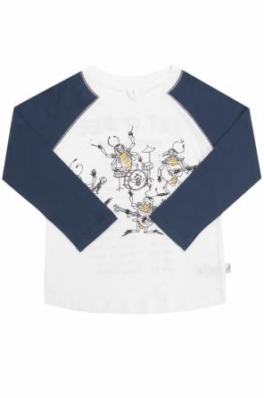 T-shirt with a printed pattern od Stella McCartney Kids