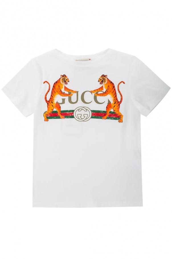 1737f7920c3 Printed T-shirt Gucci Kids - Vitkac shop online