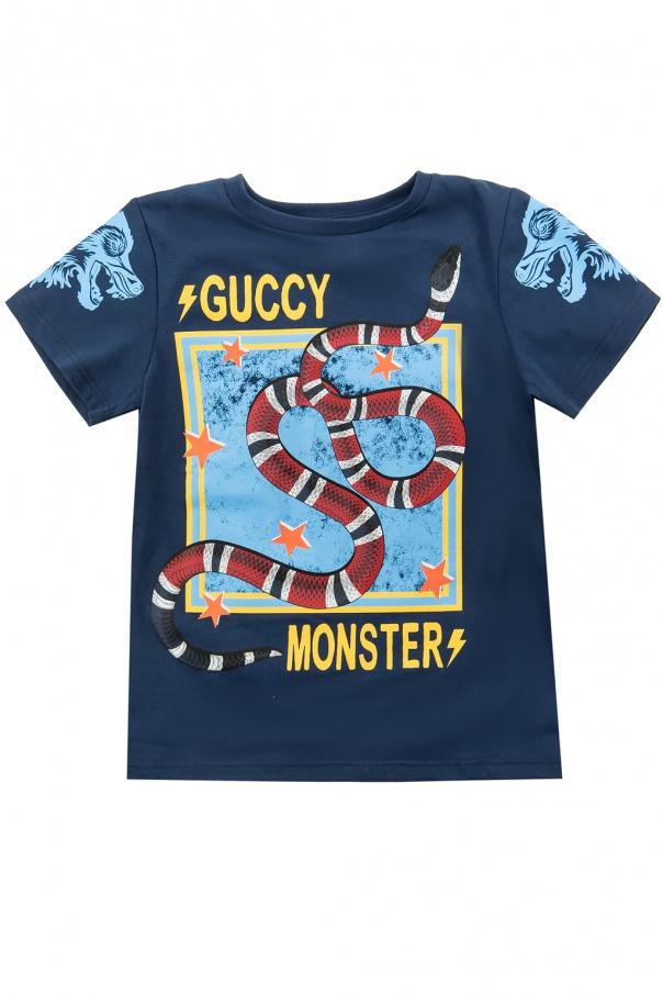 b27833abe80 Printed T-shirt Gucci Kids - Vitkac shop online