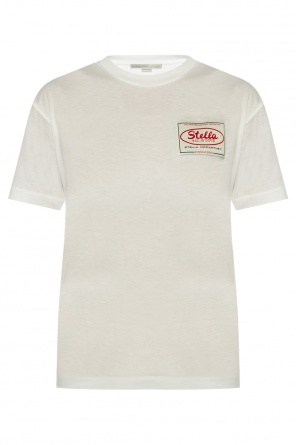 Logo-patched t-shirt od Stella McCartney