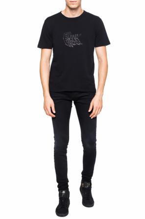 Printed lettering t-shirt od Saint Laurent