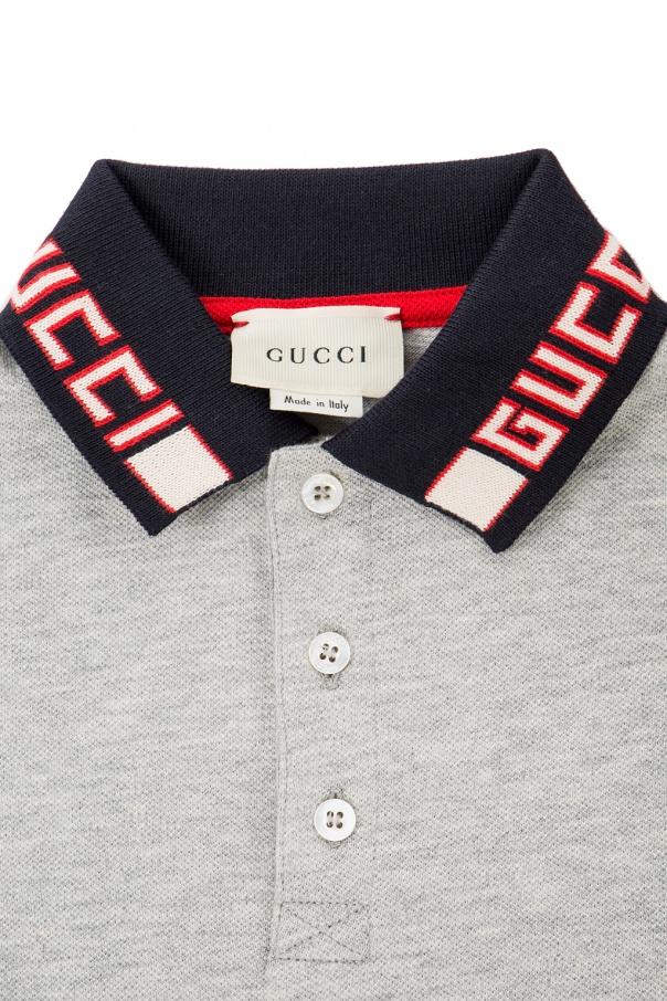 Long sleeve polo shirt Gucci Kids - Vitkac shop online b82da8beb96