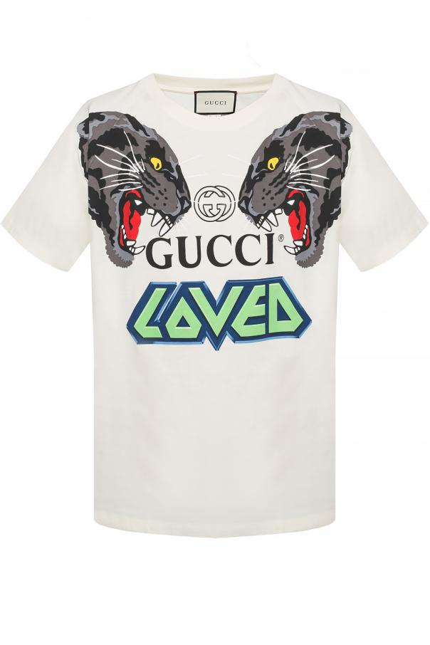 1a8558f13 T-shirt with a print Gucci - Vitkac shop online