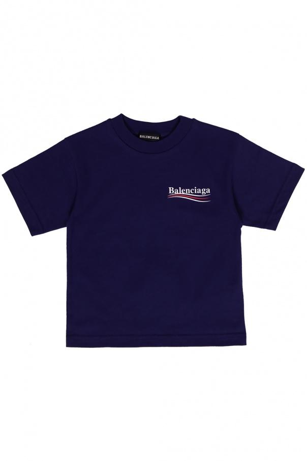 Balenciaga Kids Logo T-shirt