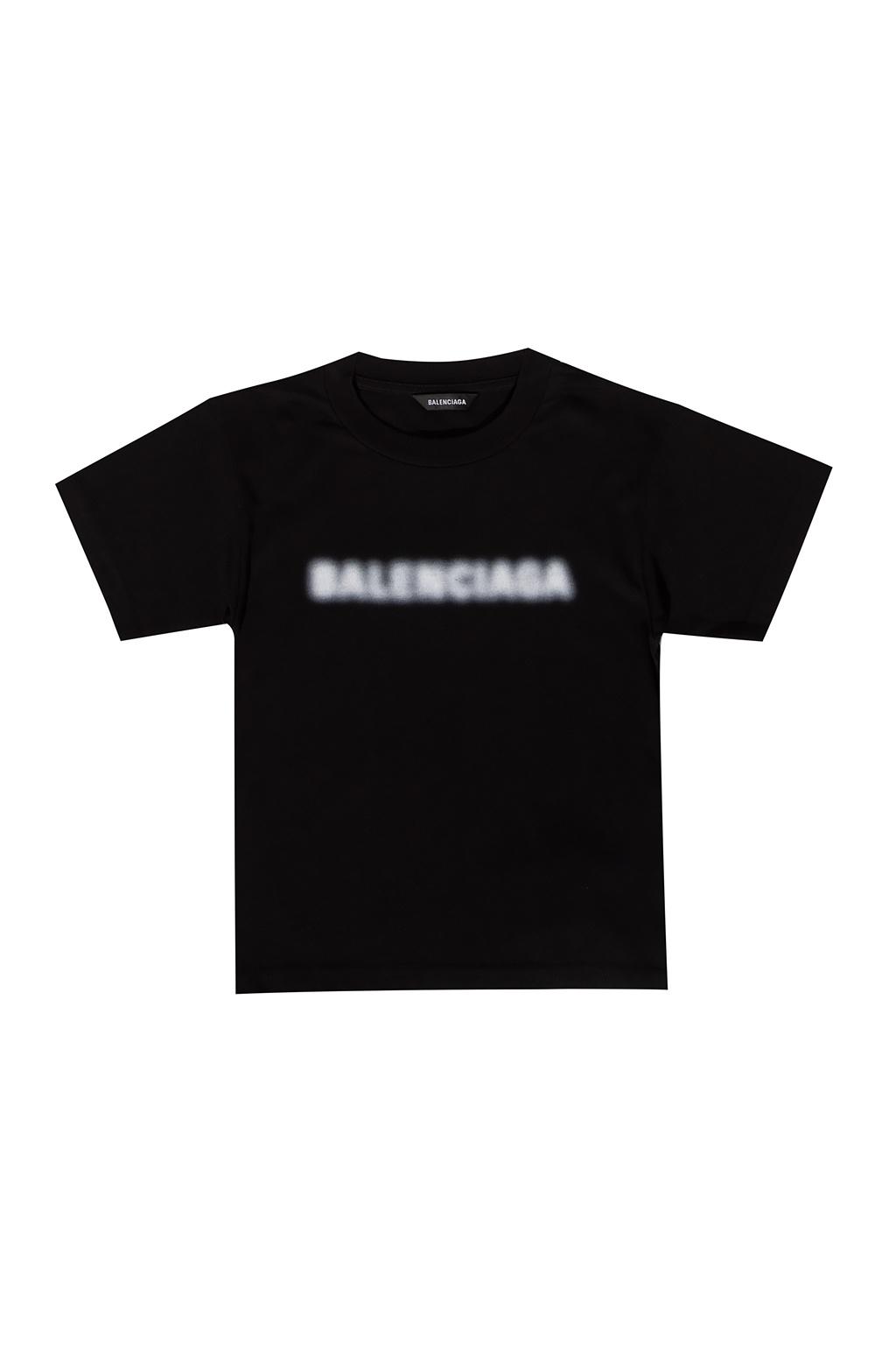 Balenciaga Kids Logo-printed T-shirt