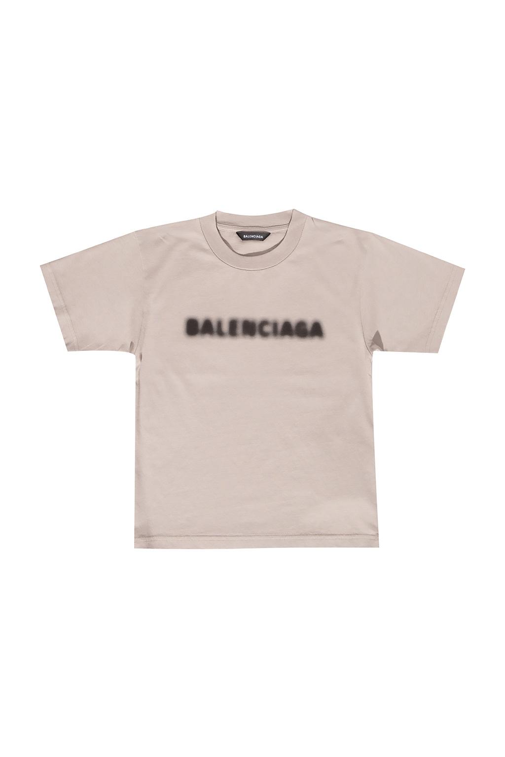 Balenciaga Kids T-shirt z nadrukowanym logo