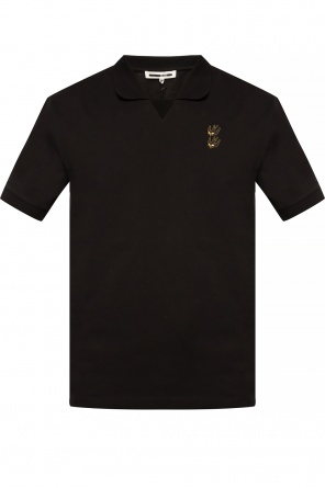 Embroidered polo shirt od McQ Alexander McQueen