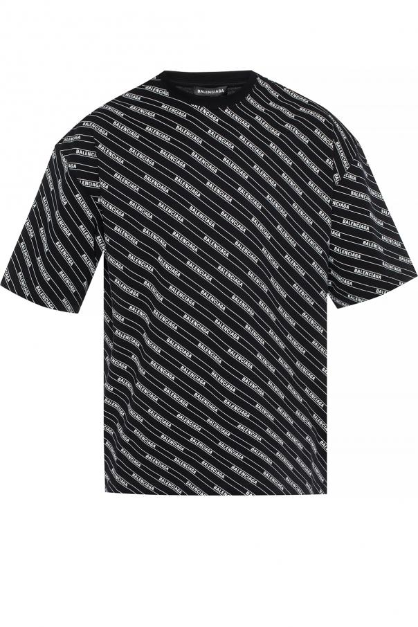 b24e0990cee6 Patterned T-shirt Balenciaga - Vitkac shop online