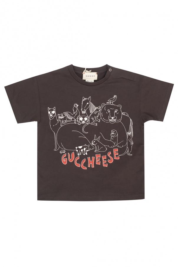 Gucci Kids Printed T-shirt