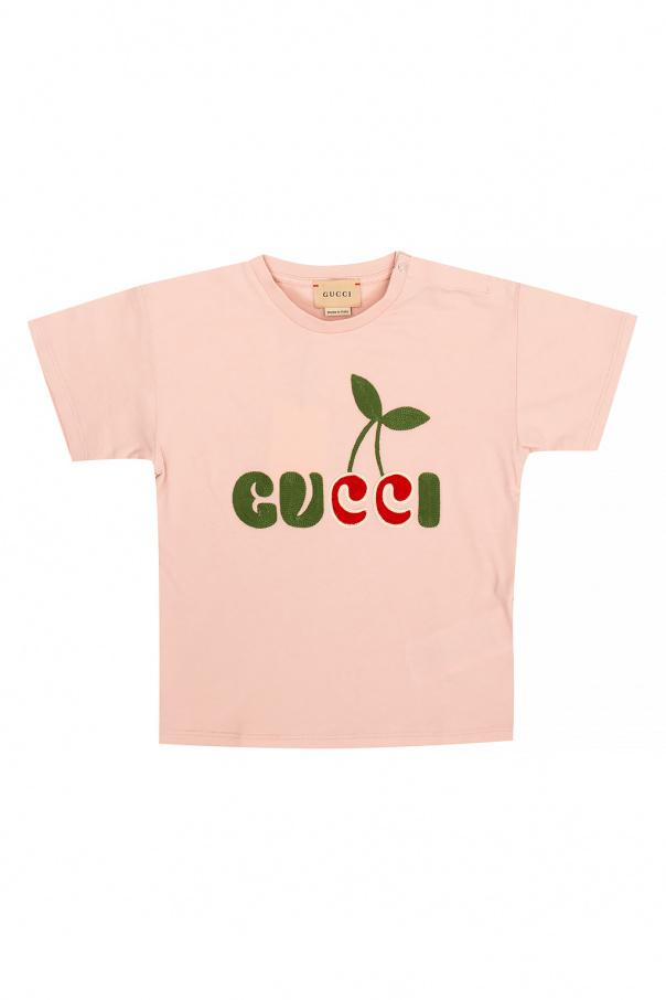 Gucci Kids T-shirt z logo