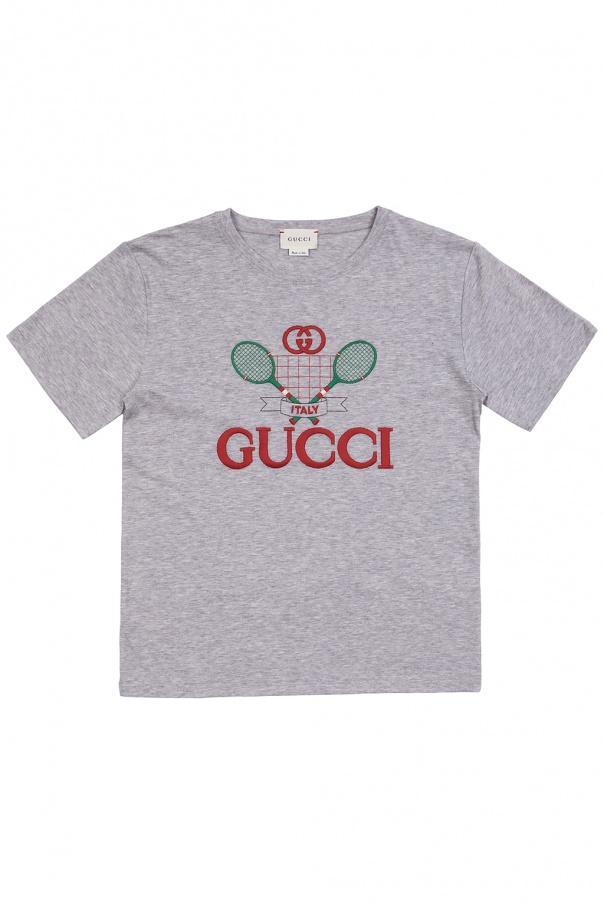 Gucci Kids T-shirt with logo