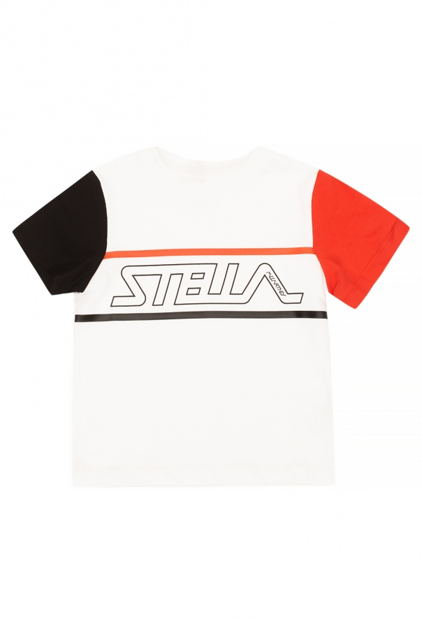 Stella McCartney Kids T-shirt with logo