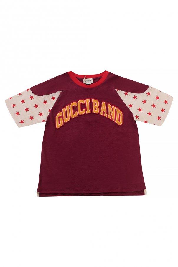 Gucci Kids Linen T-shirt