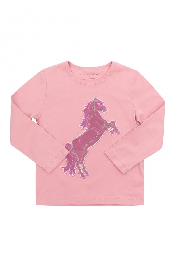 Stella McCartney Kids Patched top