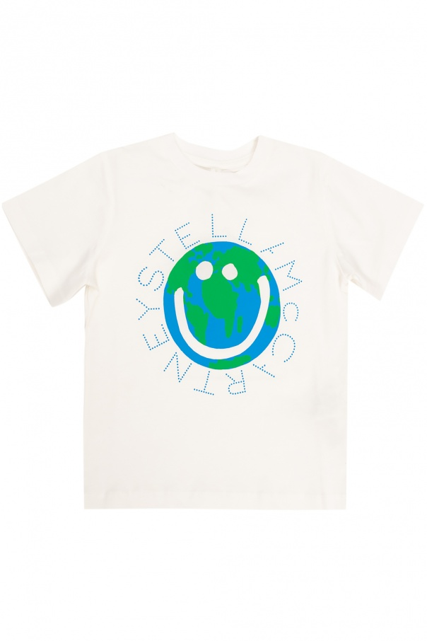 Stella McCartney Kids Logo T-shirt