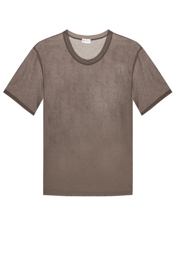 Saint Laurent Sheer T-shirt