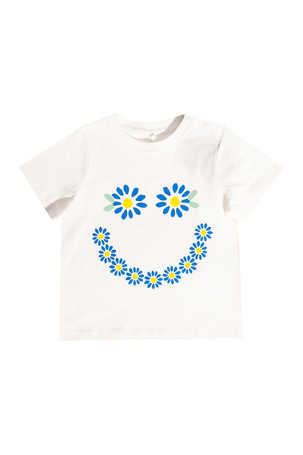 Stella McCartney Kids T-shirt z nadrukiem