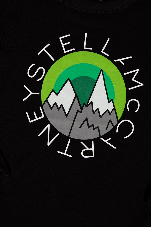 Stella McCartney Kids T-shirt with long sleeves