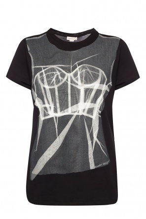 T-shirt with logo od Alexander McQueen