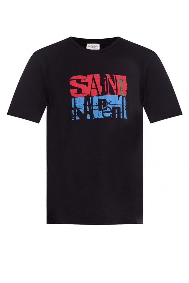 Saint Laurent Printed T-shirt