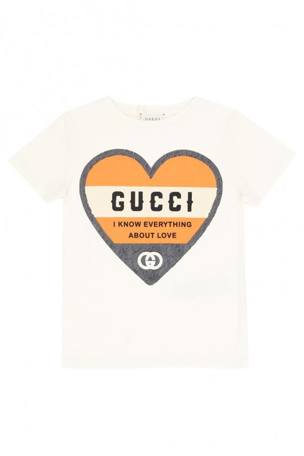 Gucci Kids Logo T-shirt