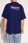Balenciaga Logo-embroidered T-shirt