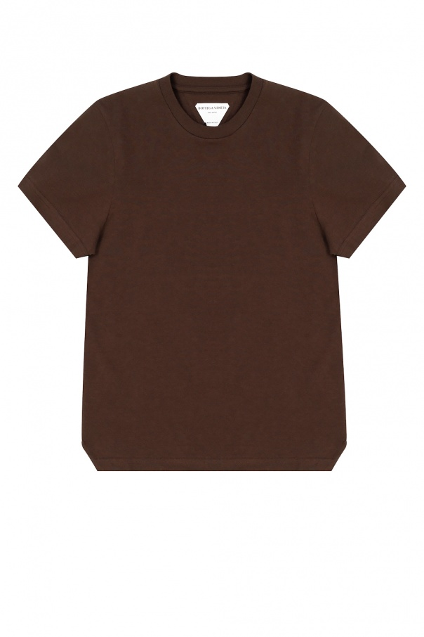 Bottega Veneta T-shirt z okrągłym dekoltem
