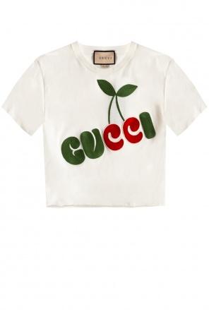 Logo t-shirt od Gucci
