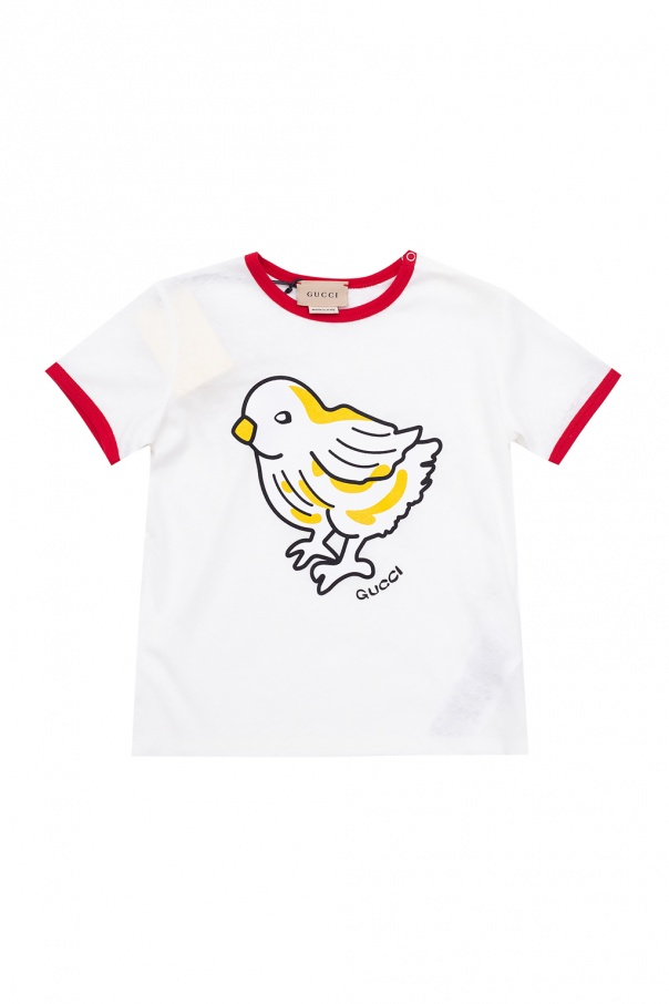 Gucci Kids T-shirt with logo