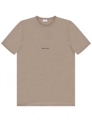T-shirt with logo od Saint Laurent