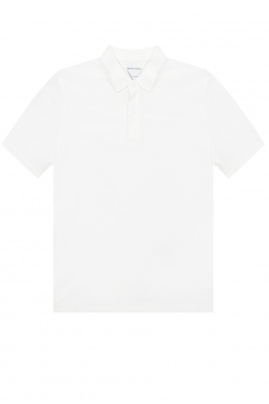 Cotton polo shirt od Bottega Veneta