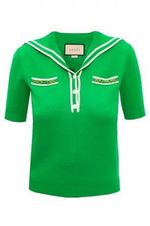 Wool polo shirt od Gucci